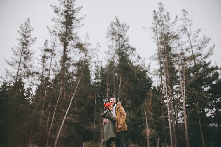 fotografo pre boda vizcaya bizkaia14 Ana + Ander | Sesión de pareja en Oiz