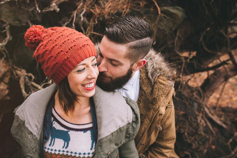 fotografo pre boda vizcaya bizkaia18 Ana + Ander | Sesión de pareja en Oiz