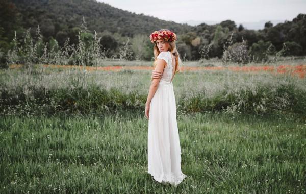 Sesión de inspiración de novia boho