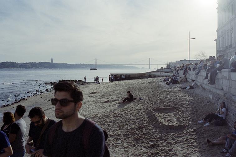 rio tajo que ver en lisboa fotografia analogica 1 Lisboa Vintage