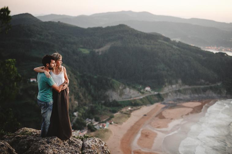 fotografo de bodas gernika 37 Aintzane & Xabi | Preboda en Laga   Ogoño
