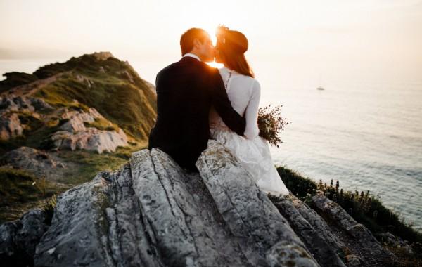 Postboda en Zumaia | Vestido de novia Alicia rueda