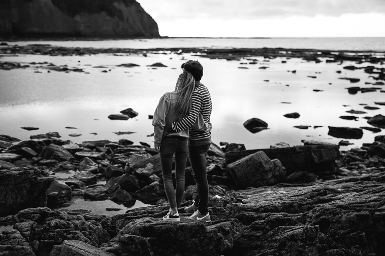 fotografos de bodas bilbao 42 Pre boda en la playa de Ogeia