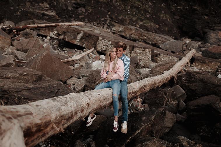 fotografos de bodas bilbao 56 Pre boda en la playa de Ogeia