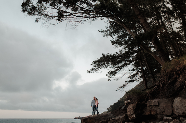 fotografos de bodas bilbao 58 Pre boda en la playa de Ogeia