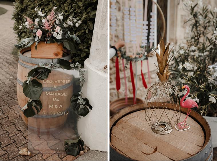 chateau lafitte mariage Boda tropical en Burdeos