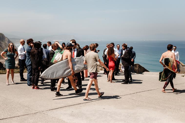 fotografo de bodas bilbao 446 Lara & Patxi | Boda surfera en Barrika
