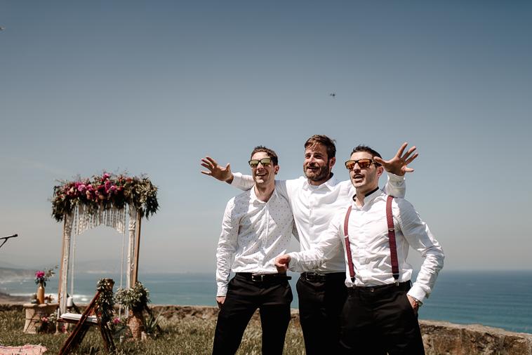 fotografo de bodas bilbao 456 Lara & Patxi | Boda surfera en Barrika