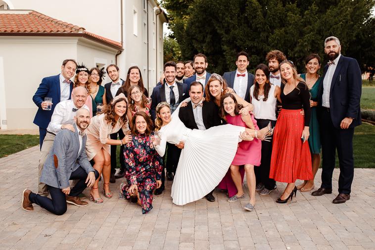 boda en marques de vargas 107 Boda en bodegas Marques de Vargas