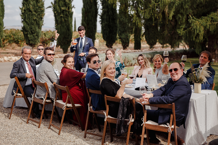 boda en marques de vargas 68 Boda en bodegas Marques de Vargas