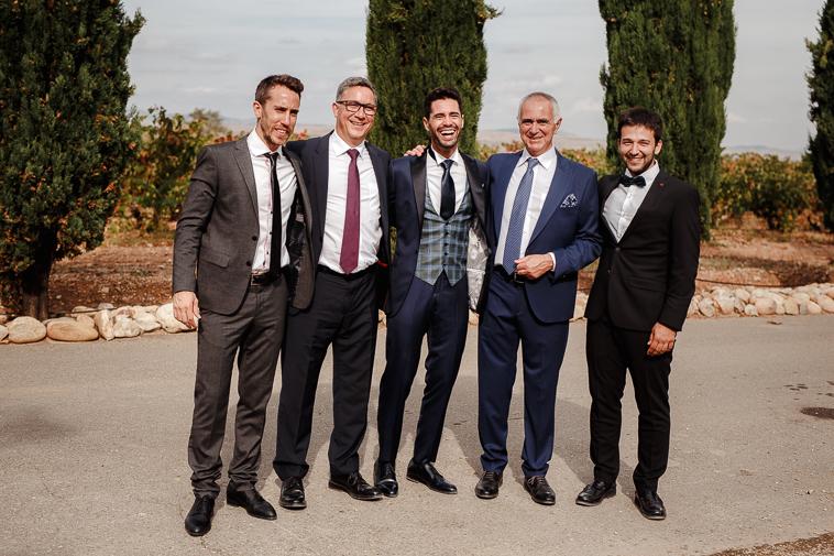 boda en marques de vargas 71 Boda en bodegas Marques de Vargas
