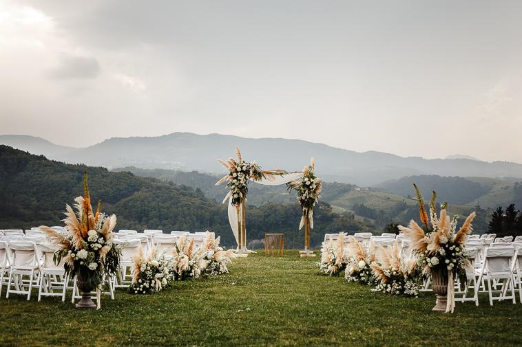 boda en bodega katxina 31 Boda india en Bodega Katxina