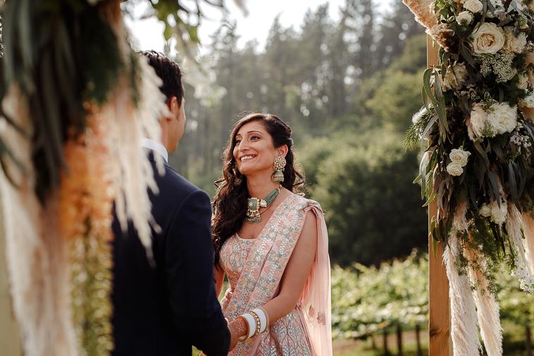 boda en bodega katxina 57 Boda india en Bodega Katxina