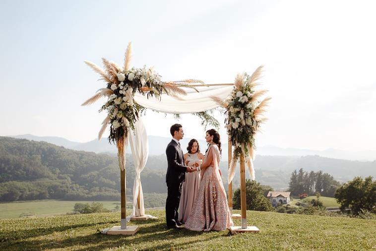 boda en bodega katxina 60 Boda india en Bodega Katxina