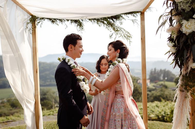 boda en bodega katxina 62 Boda india en Bodega Katxina