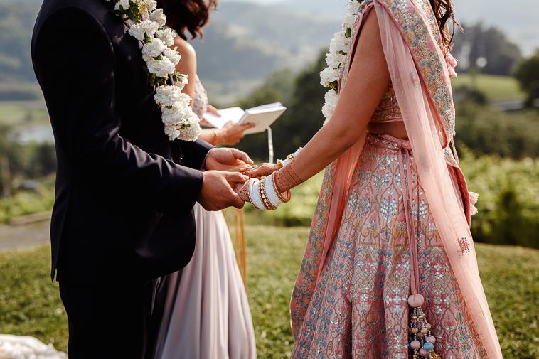 boda en bodega katxina 63 Boda india en Bodega Katxina