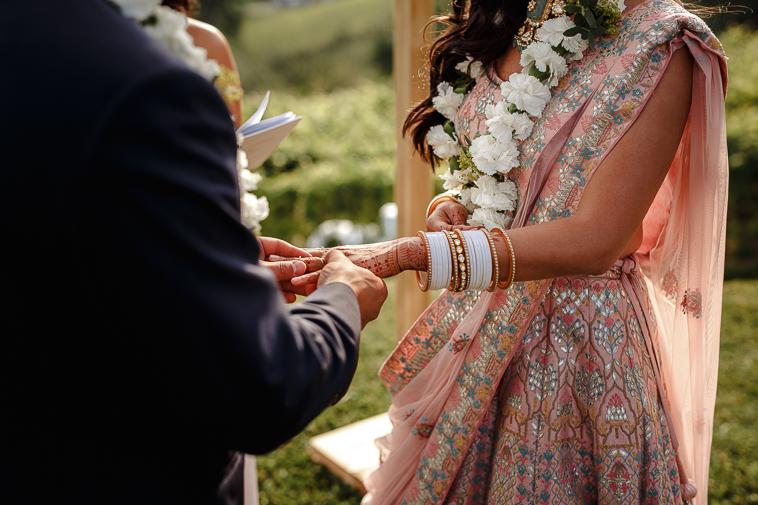 boda en bodega katxina 70 Boda india en Bodega Katxina