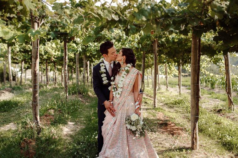boda en bodega katxina 76 Boda india en Bodega Katxina