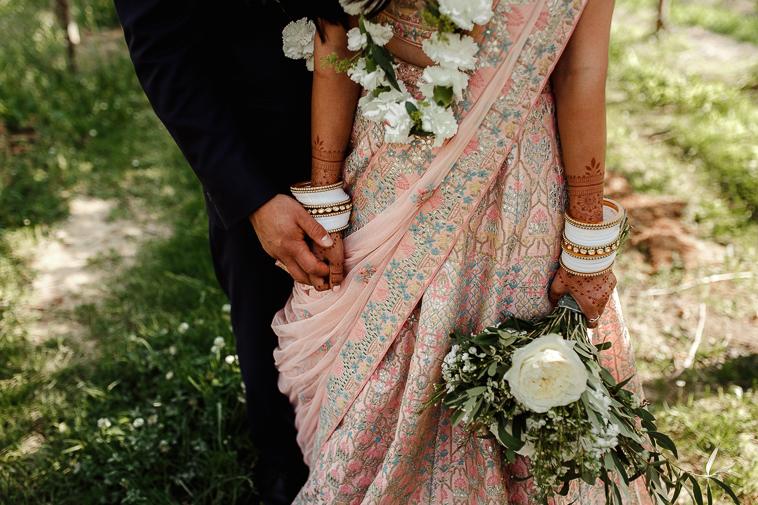 boda en bodega katxina 77 Boda india en Bodega Katxina